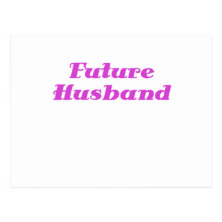 Future Husband Postcard