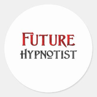 Future Hypnotist Round Stickers