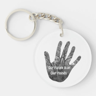 Future in your hands keychain