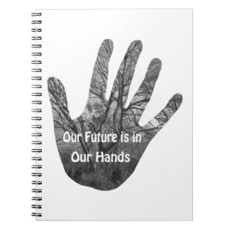 Future in your hands notebook