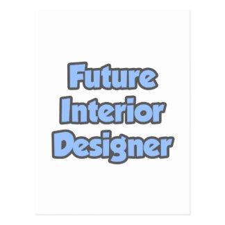 Future Interior Designer Postcard