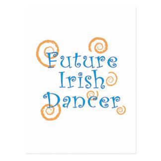 Future Irish Dancer - Original Version Postcard