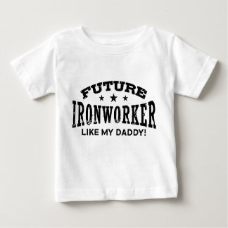Future Ironworker Baby T-Shirt