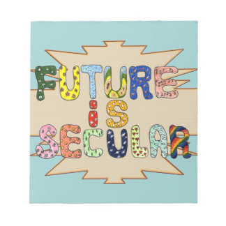 FUTURE IS SECULAR NOTE PAD