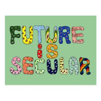 FUTURE IS SECULAR POSTCARD