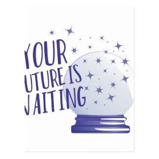 Future Is Waiting Postcard