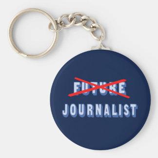 Future Journalist No More Keychain