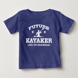 Future Kayaker Like My Grandma Baby T-Shirt