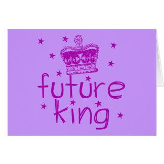 Future King Cute Royalty Tshirt Card