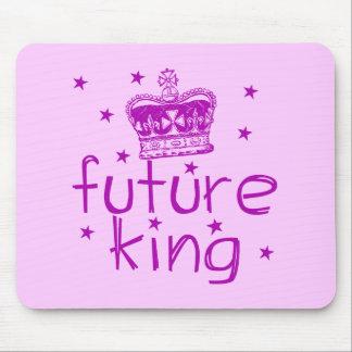 Future King Cute Royalty Tshirt Mouse Pad