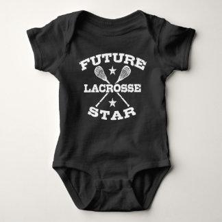 Future Lacrosse Star Baby Bodysuit