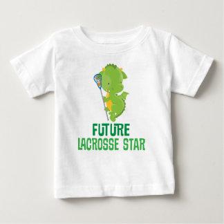 Future Lacrosse Star Baby Dragon Kids T-shirt
