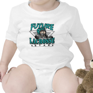 Future Lacrosse Star Teal Helmet Creeper