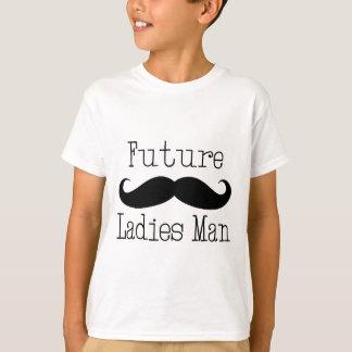 Future Ladies Man Mustache T-Shirt