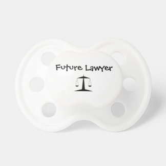 """Future Lawyer"" Baby Pacifier"