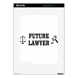 FUTURE LAWYER DECAL FOR iPad 2