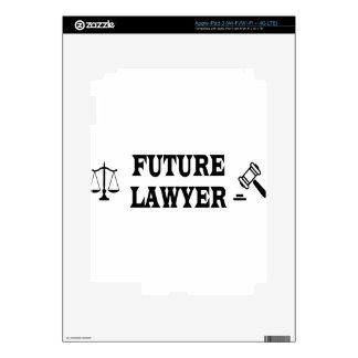 FUTURE LAWYER iPad 3 DECALS