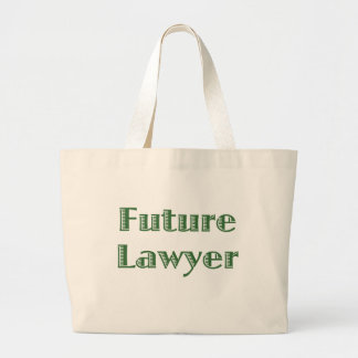 Future Lawyer Large Tote Bag