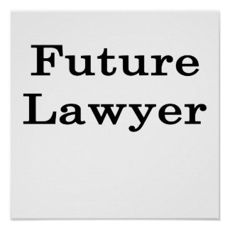 Future Lawyer Poster