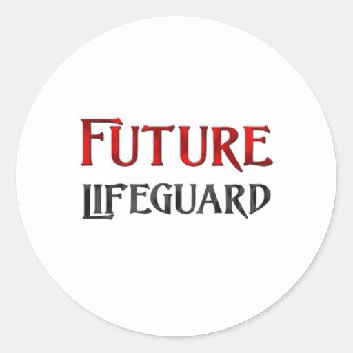 Future Lifeguard Round Sticker