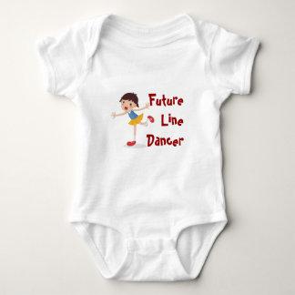 Future Line Dancer! - Girl Baby Bodysuit