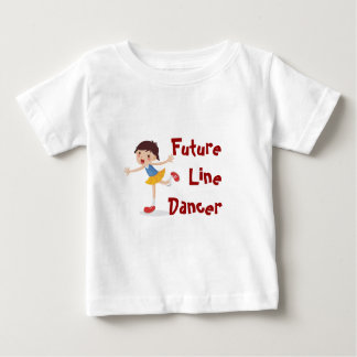Future Line Dancer! - Girl Tee Shirt