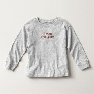 future linux geek t shirt