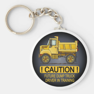 Future Little Dump Truck Driver Key Chain
