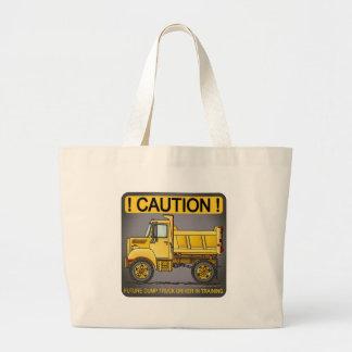Future Little Dump Truck Driver Tote Bag