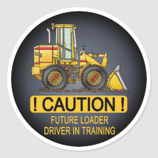 Future Loader Driver Kids Sticker