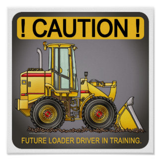 Future Loader Driver Poster Print