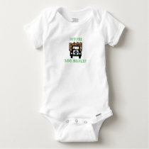 Future Log Hauler Baby Driving Log Truck Baby Onesie