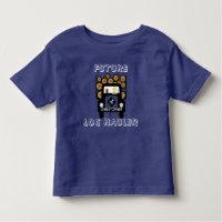 Future Log Hauler Baby Driving Log Truck Toddler T-shirt