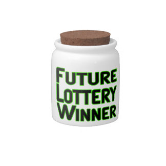 Future Lottery Winner Candy Jars