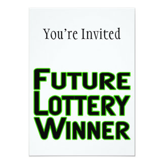 Future Lottery Winner Card