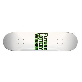 Future Lottery Winner Skateboard Deck