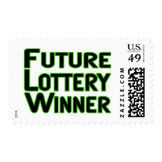Future Lottery Winner Stamp