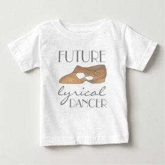 FUTURE LYRICAL DANCER Tan Dance Shoe Baby T-Shirt