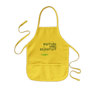 Future Mad Scientist Kids' Apron
