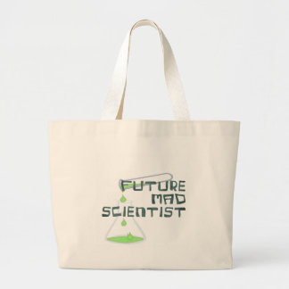 Future Mad Scientist Large Tote Bag