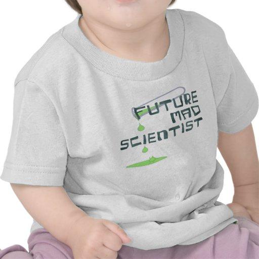 Future Mad Scientist T Shirt