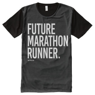 Future marathon runner -   Running Fitness -.png All-Over Print T-shirt
