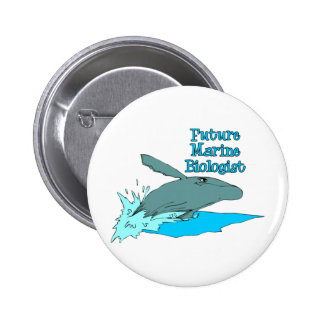 Future Marine Biologist Pin