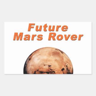 Future Mars Rover Rectangular Sticker