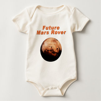Future Mars Rover Baby Bodysuits