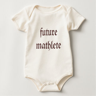 future mathlete baby bodysuit