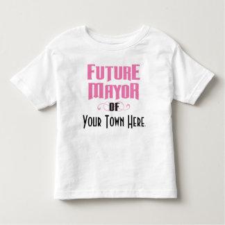 Future Mayor of Your Town Girl's Tee Shirt