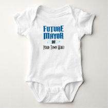 Future Mayor One-Piece Bodysuit for Baby Boy