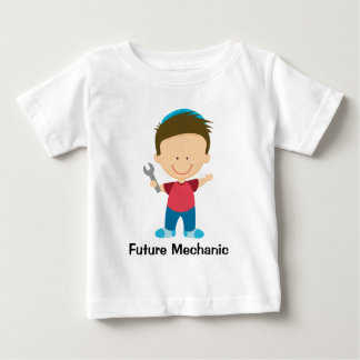 Future Mechanic Boy Kids Occupation Gift Baby T-Shirt