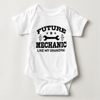 Future Mechanic Like My Grandpa Baby Bodysuit